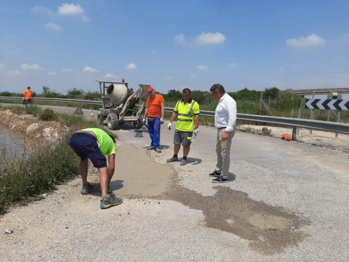 El Consell Agrari posa en marxa un pla integral de reparació de tots els camins asfaltats del terme municipal