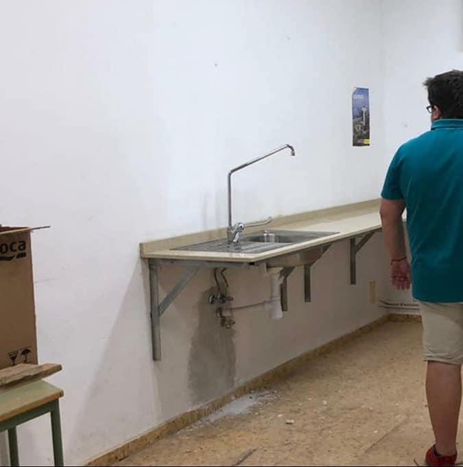 Sumacàrcer inicia les obres per equipar de menjador escolar al seu col·legi públic