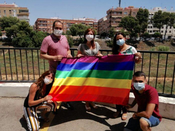 El Grup Municipal Socialista de Paiporta es suma al Dia Internacional de l'Orgull LGTBI