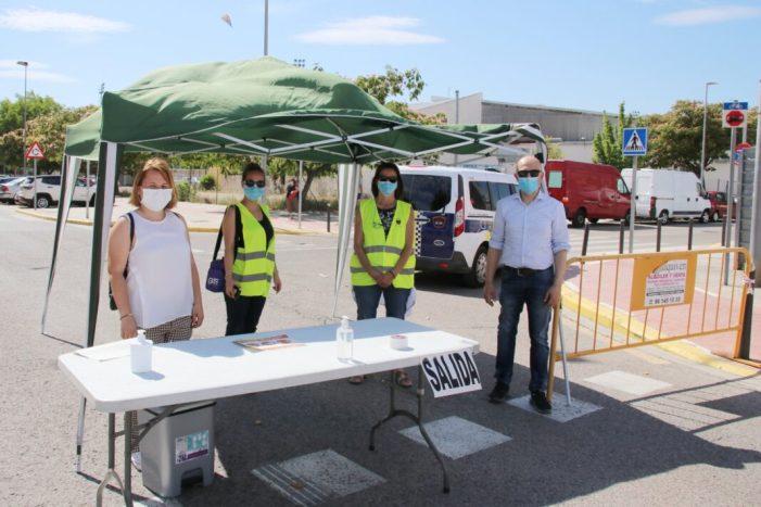 Alaquàs reobri el Mercat Ambulant amb 108 parades al carrer Lanjarón