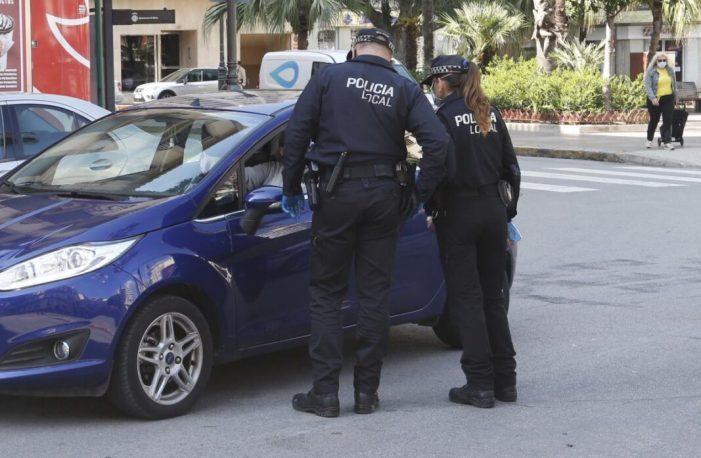 La Policia Local d'Alzira deté l'agressor de l'indigent ferit la matinada de dijous