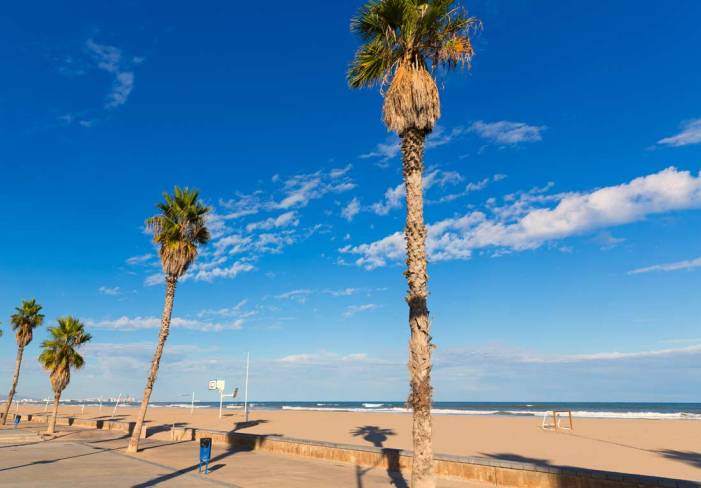 Set banderes blaves tornaran a onejar enguany en les platges de València