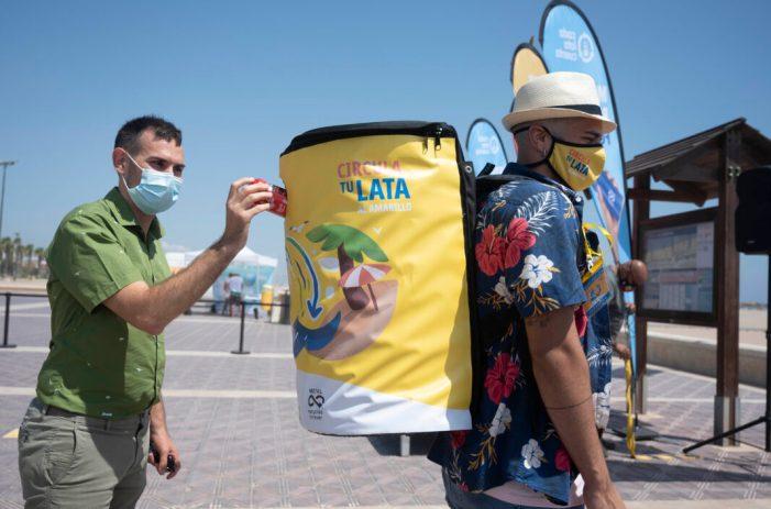 L'ajuntament impulsa una nova campanya per a fomentar en les platges el reciclatge, l'economia circular i el turisme sostenible