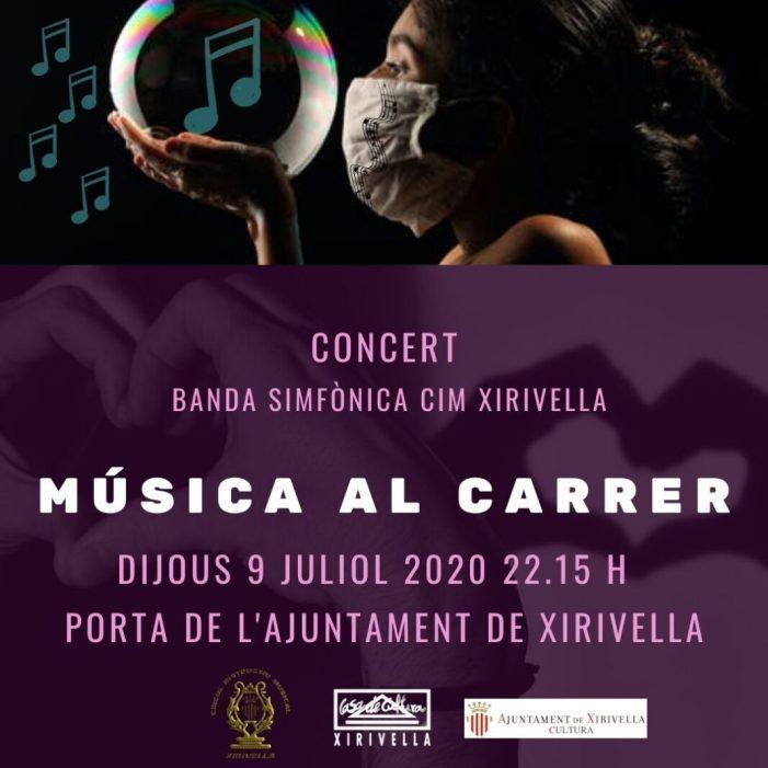 El CIM de Xirivella programa el seu primer concert després de l'estat d'alarma
