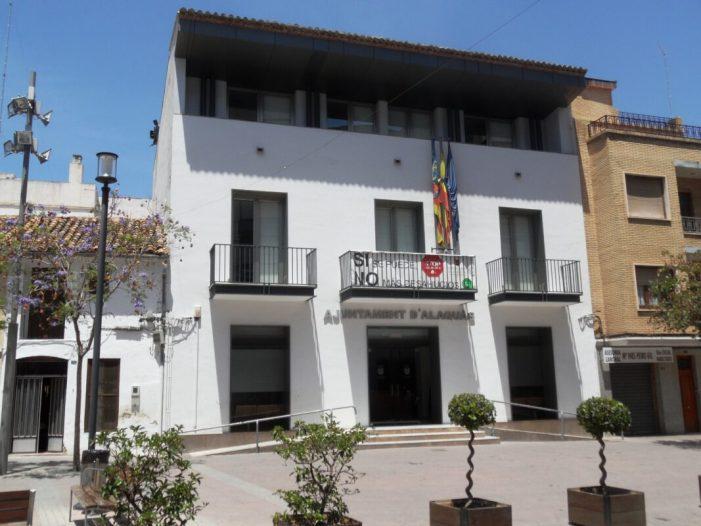 L'Ajuntament d'Alaquàs destina 120.000 euros a la reactivació econòmica amb ajudes directes als comerços locals, persones autònomes i microempreses