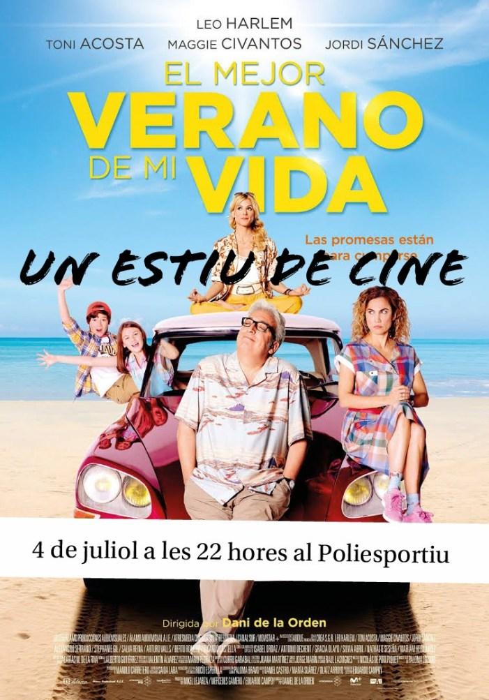«Un estiu de cine», pel·lícules a la fresca per a l'estiu d'Alcàsser