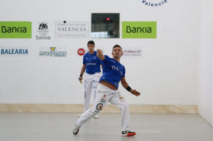 Comencen les semifinals de la Lliga Bankia de raspall