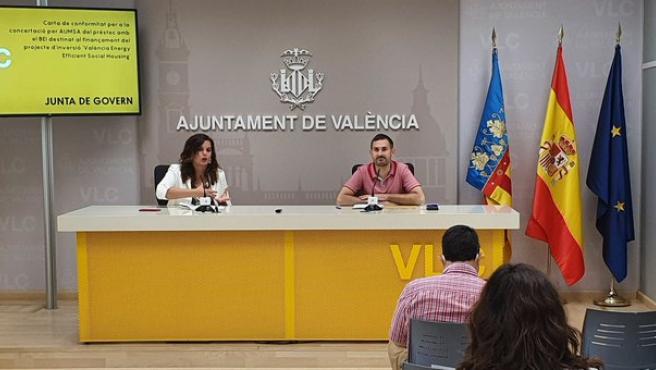 València instal·la semàfors per a regular el pas alternatiu de vehicles al Palmar