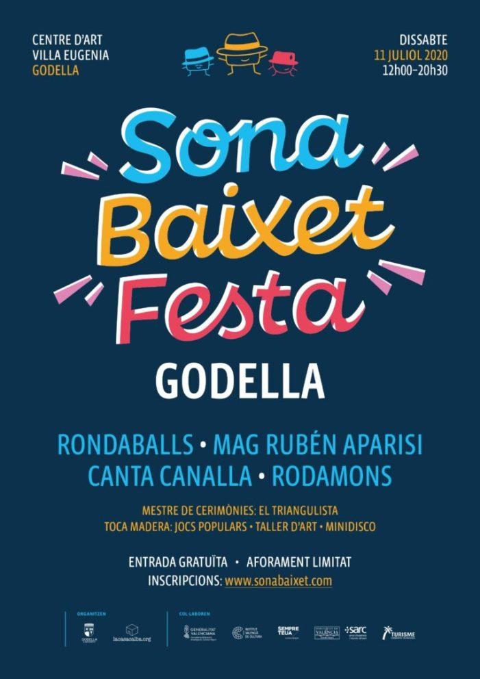 La tercera edició del Sona Baixet Fest(a) de Godella se celebrarà l'11 de juliol