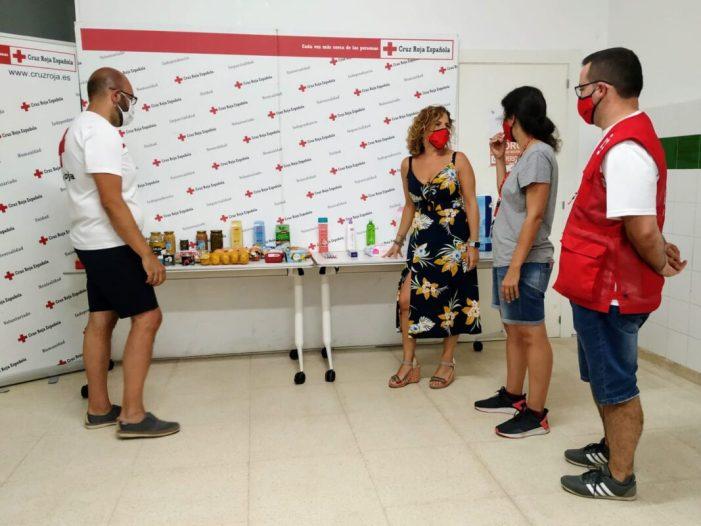 L'Ajuntament de València i Creu Roja continuaran amb el repartiment de cistelles de productes d'alimentació saludable entre les persones majors de la ciutat