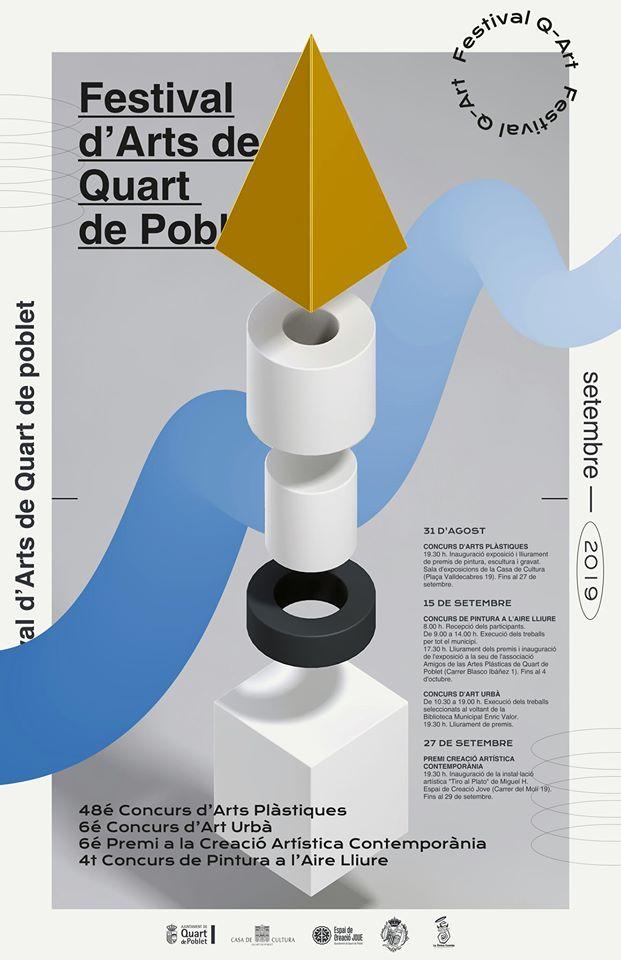 L'Ajuntament de Quart de Poblet, guardonat pel seu disseny de la campanya Q-Art 2019 en els premis Graphis