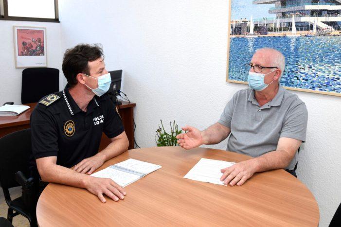 Paiporta reforça els controls policials per garantir el compliment de les mesures de contenció de la Covid-19