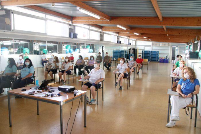 L'Ajuntament d'Alaquàs imparteix una sessió formativa d'actualització sobre neteja i desinfecció específica per a la lluita contra la COVID-19