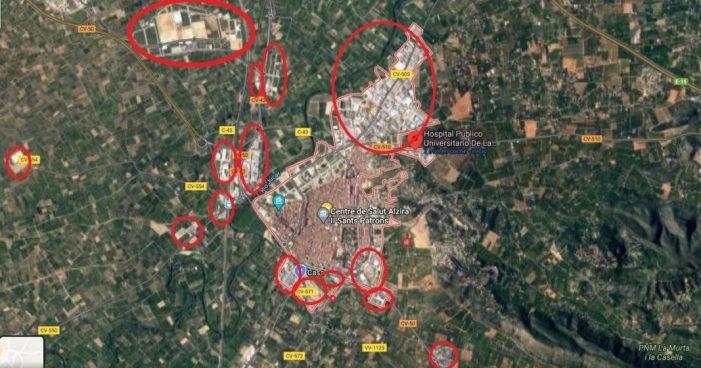 El desastre urbanístic a Alzira i el País Valencià