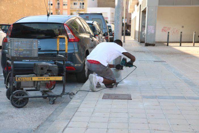 Quart de Poblet recobrirà 40 fanals amb una resina plàstica que evita la seua deterioració