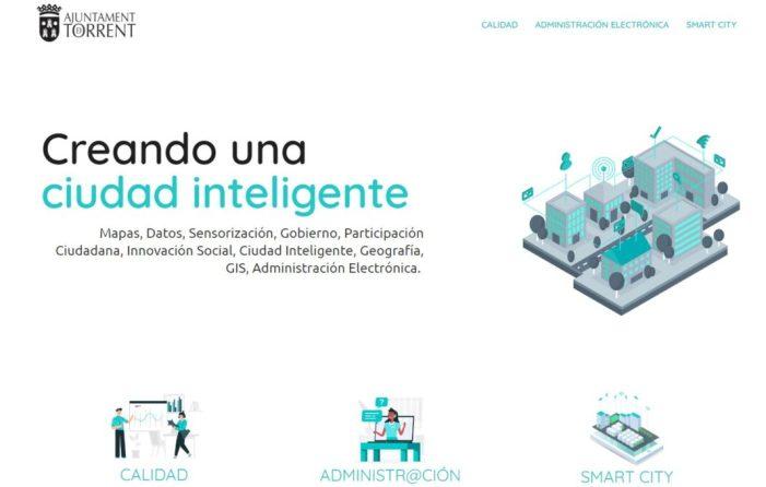 L'Ajuntament de Torrent posa en marxa una web per a donar a conéixer tots els projectes en matèria de Smart City