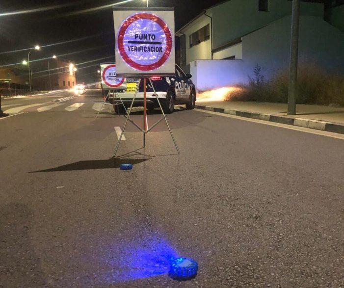 La Policia Local d'Alberic intensifica les actuacions per a garantir la lluita contra la pandèmia