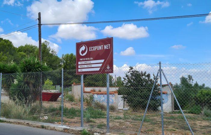 Els Ecopunts Nets d'Alzira arrepleguen més de 60.000 quilos de deixalles en mes i mig