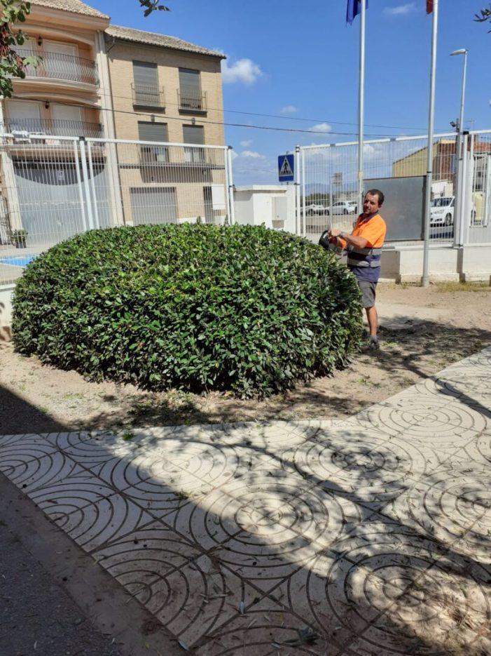 Bonrepòs i Mirambell reforça la neteja i desinfecció del CEIP Mare de Déu del Pilar