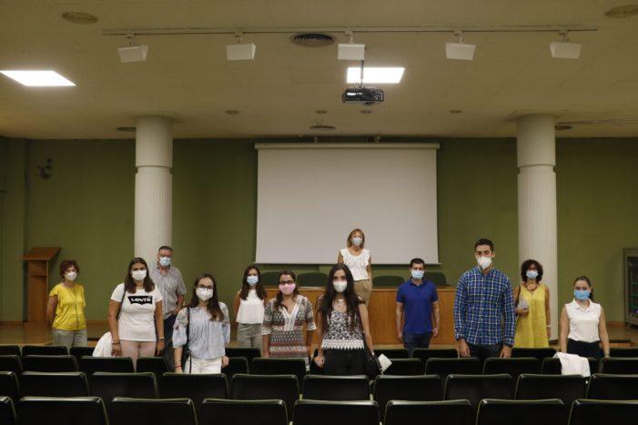 Set joves inicien la seua experiència laboral a l'Ajuntament de Quart de Poblet