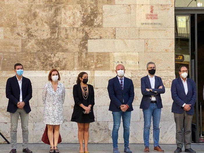 Silenci a Burjassot davant l'última mort per violència masclista