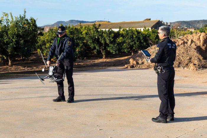L'Ajuntament de Picassent adquirix un nou dron per reforçar la vigilància al terme i al casc urbà