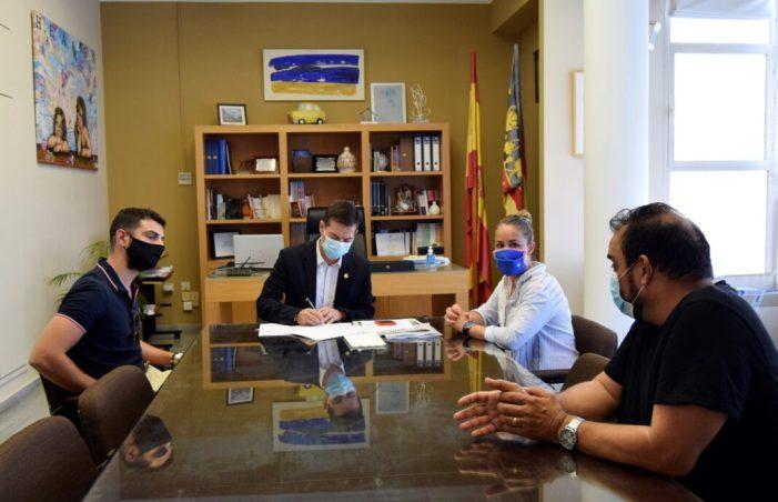 L'Ajuntament de Burjassot signa un conveni de col·laboració amb el Club de Gimnàstica Abetmar de Burjassot