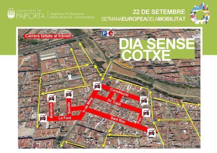 Paiporta celebra el Dia Sense Cotxe aquest dimarts