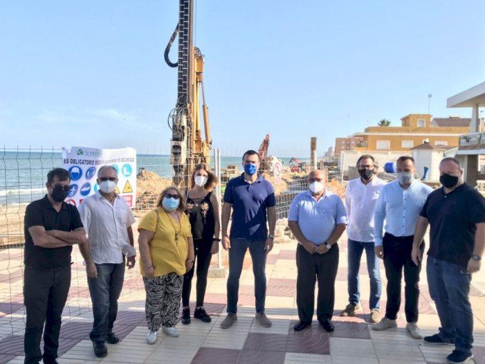 Mompó: «La platja del Perelló es troba en una situació límit i necessita solucions definitives»