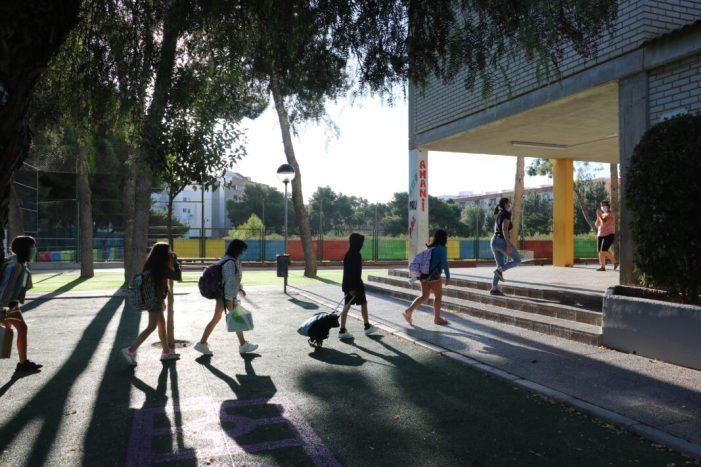 Els xiquets i xiquetes de Quart de Poblet comencen el curs amb un comportament exemplar