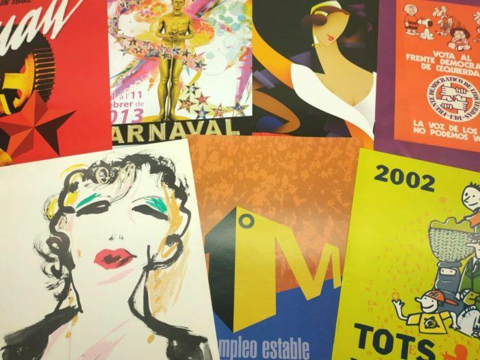 La Biblioteca Valenciana incorpora la col·lecció de cartells d'Enrique Guardiola Belenguer