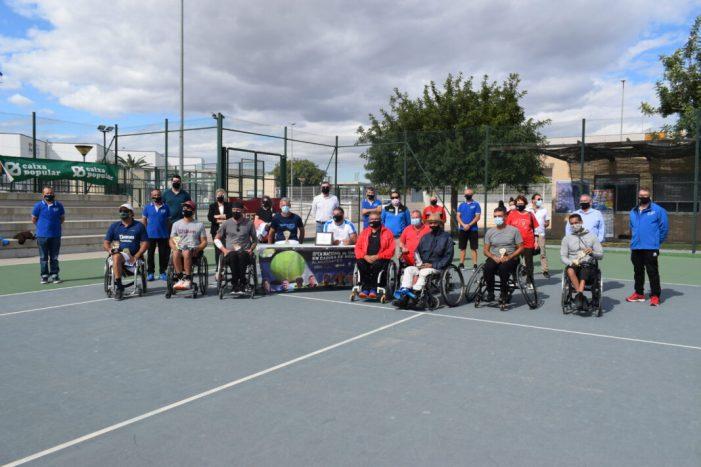 Almussafes celebra amb èxit el seu XXII Open de Tennis en Cadira de Rodes