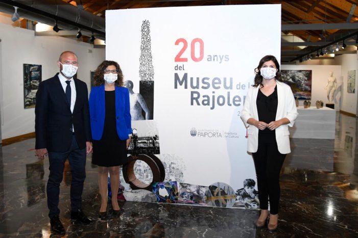 El Museu de la Rajoleria de Paiporta s'omple de llum, color i records emotius en el seu 20 aniversari