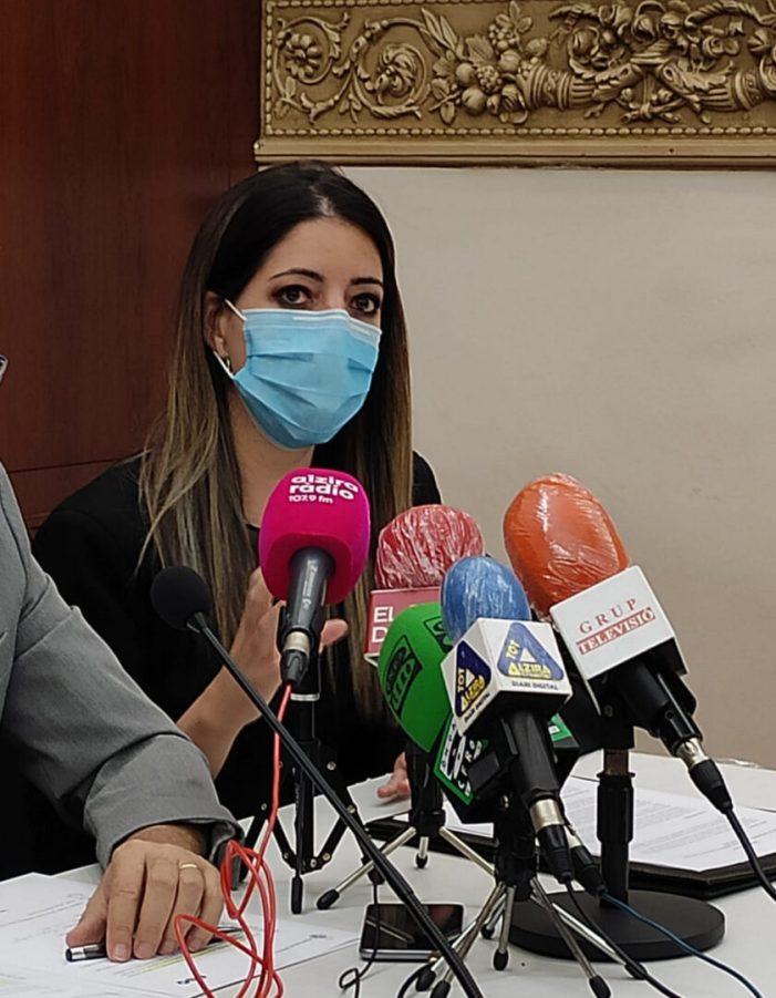 Alzira destina 95.000 euros a ajudes per a entitats socials municipals en 2020