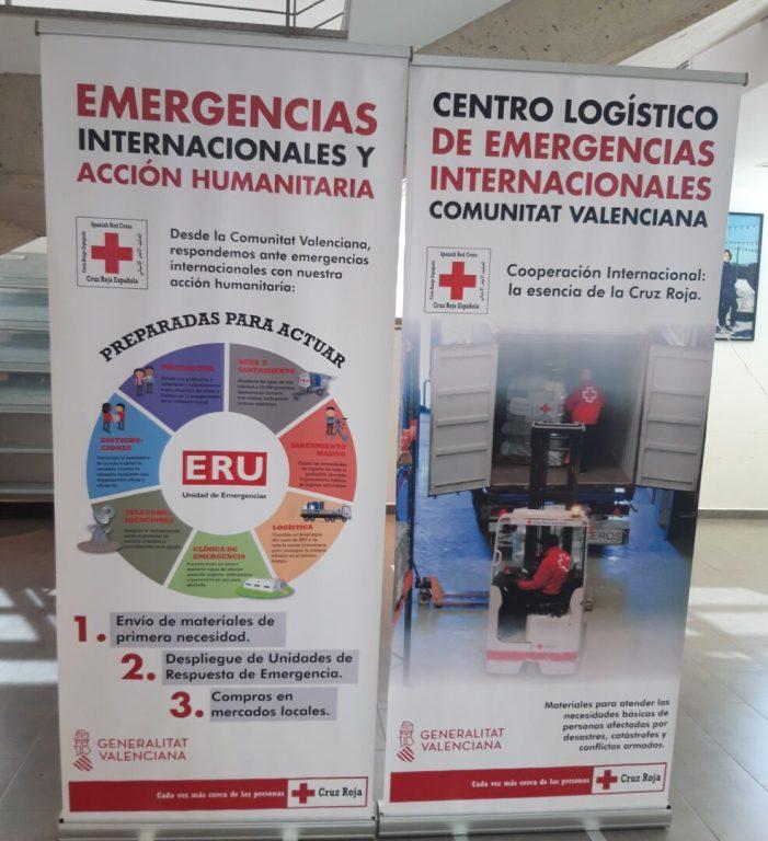 """Alfafar rep l'exposició de Creu Roja """"El bagul de l'ajuda humanitària"""""""