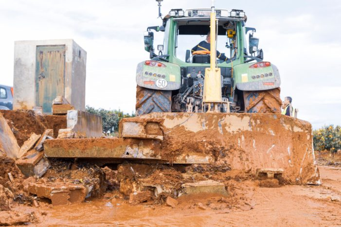 L'Ajuntament de Picassent continua treballant per reparar els camins del terme municipal afectats pel temporal del 5 de novembre