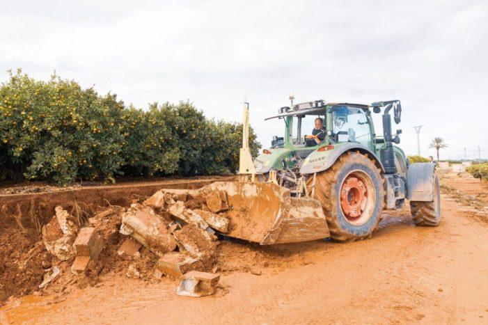 L'Ajuntament de Picassent treballa per reparar els camins del terme municipal afectats pel temporal de pluges