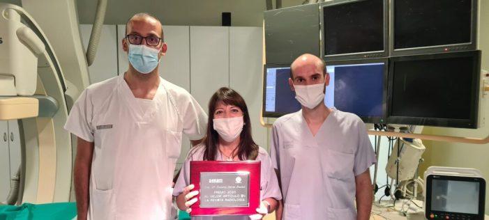 Professionals de l'Hospital de la Ribera reben el Premi de la Fundació Espanyola de Radiologia al millor article d'investigació
