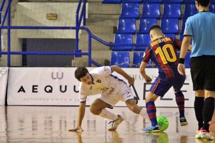 El Family Cash Alzira FS paga la falta d'encert davant el Barça 'B' (1-2)