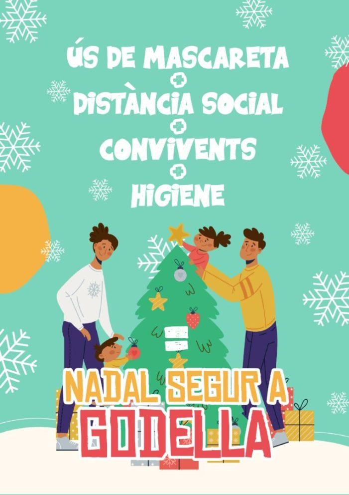 Godella inicia una campanya de conscienciació per a gaudir d'un Nadal segur
