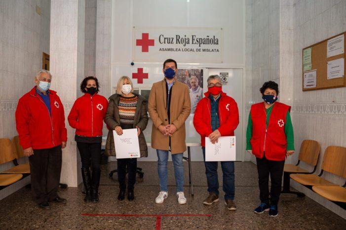 L'Ajuntament de Mislata dóna 30 tones d'aliments no peribles a Creu Roja