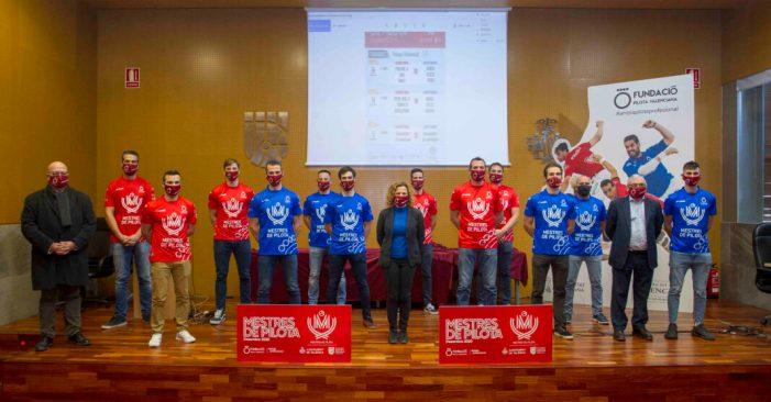 El XIV Trofeu Mestres de la Pilota reunirà en el Trinquet Pelayo als 12 millors jugadors de la temporada