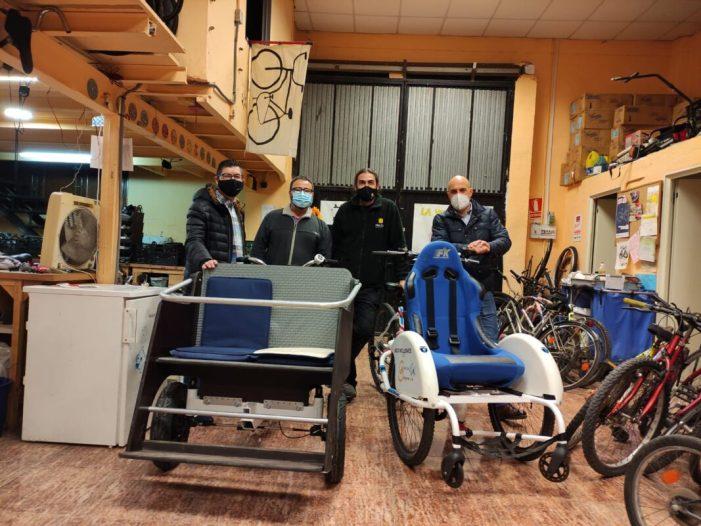 L'Ajuntament de Torrent impulsa el projecte solidari de mobilitat sostenible 'Amb bici sense edat'