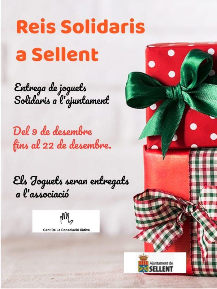 Sellent organitza una campanya solidària de recollida de joguets perquè cap xiquet quede sense Nadal