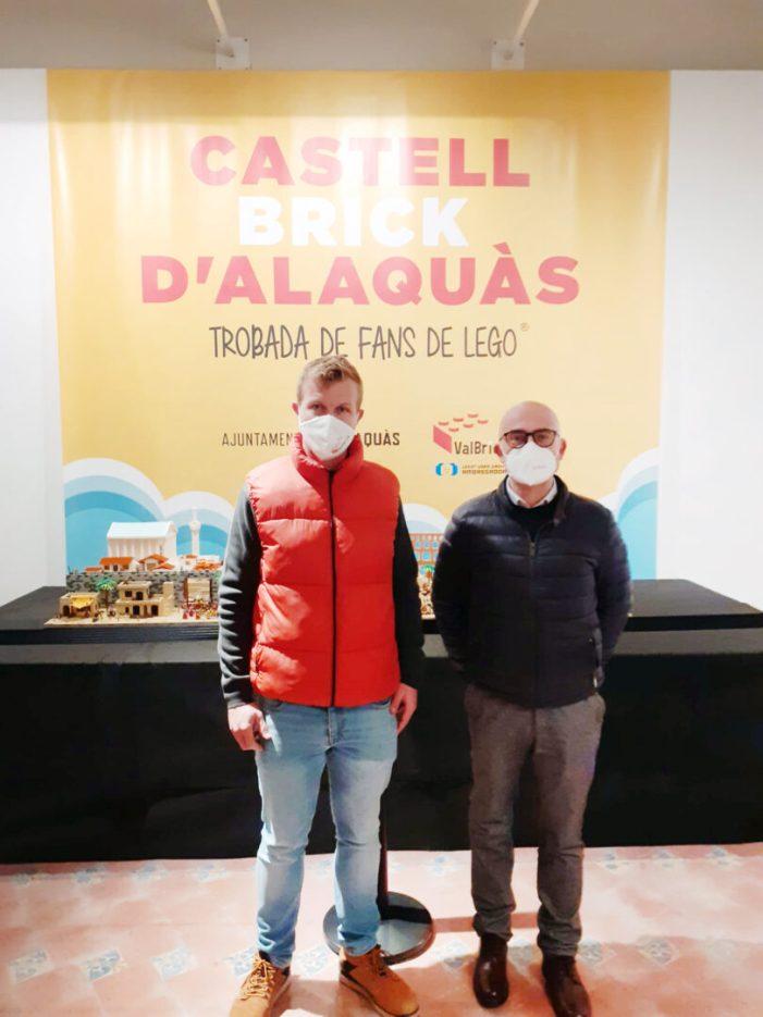 El Castell d'Alaquàs acull des del passat 9 de desembre la que és la trobada de Fans de Lego amb major quantitat de peces exposades i la més extensa fins el moment de tota la Comunitat Valenciana