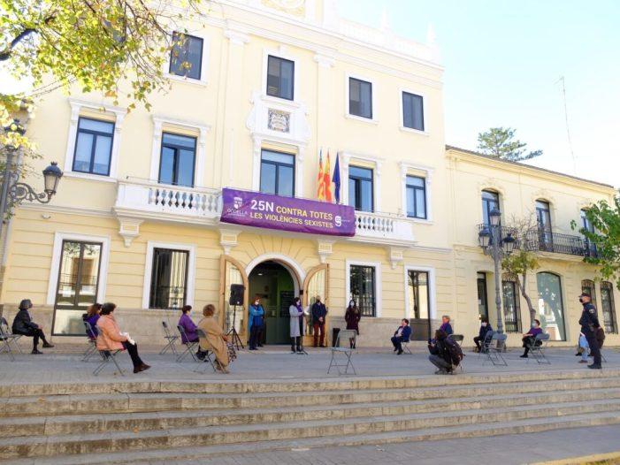 Tots els grups municipals de Godella se sumen a la Declaració Institucional del Dia Internacional per a l'Eliminació de la Violència de Gènere