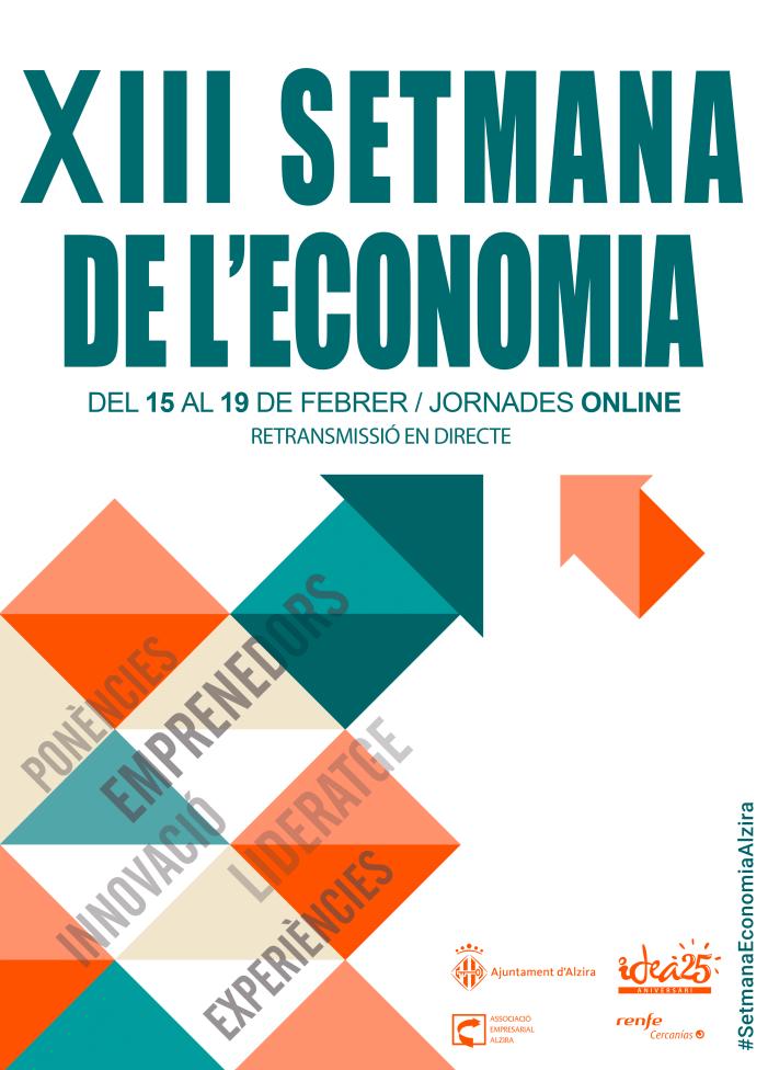 Es confirma la celebració de la XIII Setmana de l'economia d'Alzira del 15 al 19 de febrer