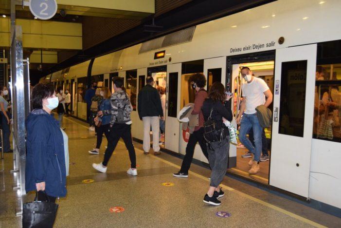 Les persones usuàries de Metrovalencia valoren amb un 8 sobre 10 els serveis que presta FGV