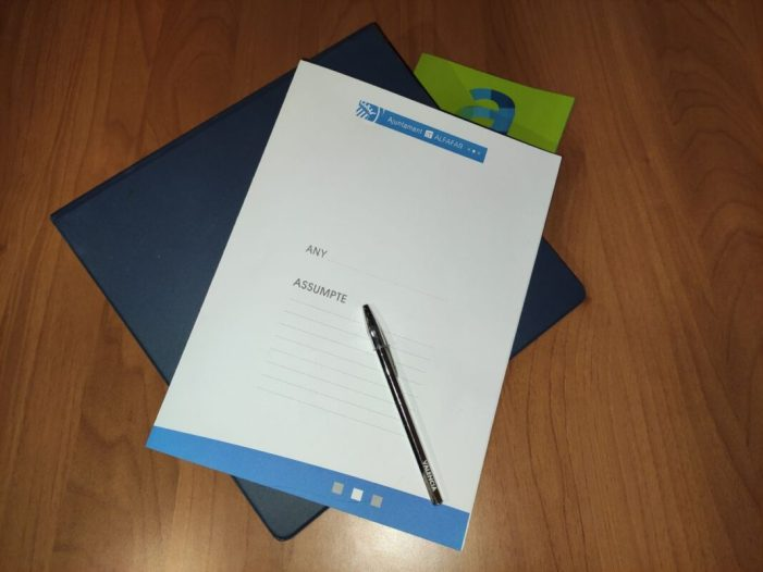 Alfafar aprova el conveni amb el Col·legi Notarial de València per a agilitar i reduir tràmits