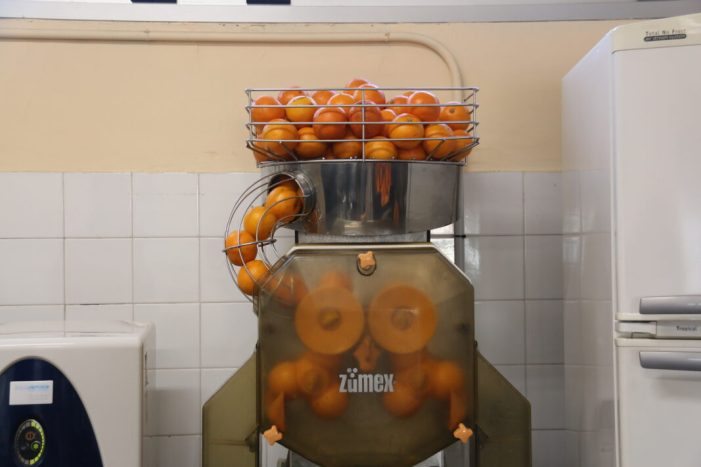 L'alumnat de l'Alcúdia comença l'any amb vitamina C
